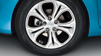 Alloy wheel kit 17
