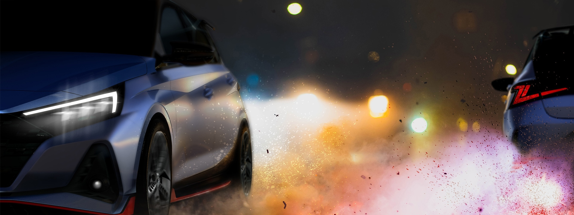 Hyundai Motor reveals teaser of latest high-performance model, the all-new i20 N.