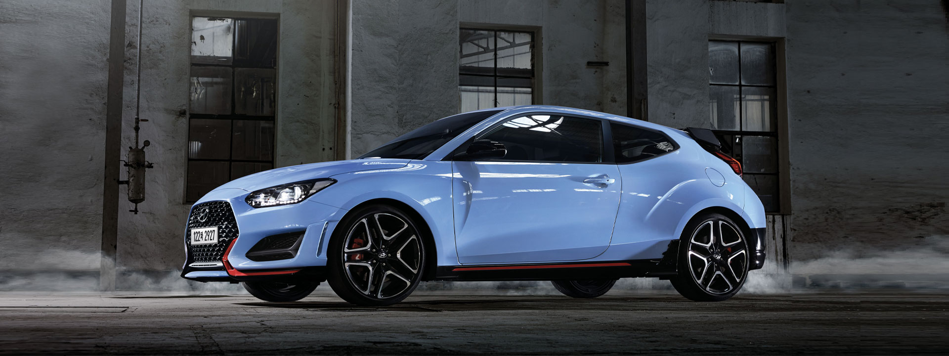Hyundai unveils the new Veloster N with 8-Speed DCT.
