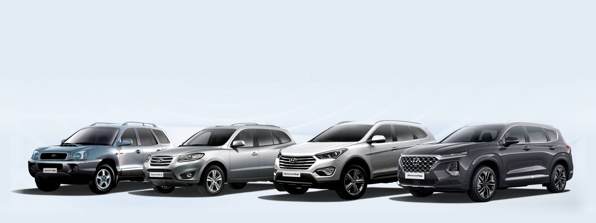 Two decades of the Hyundai Santa Fe.