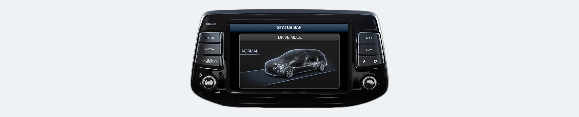 Hyundai i30 N Drive Mode Normal Shown on Screen