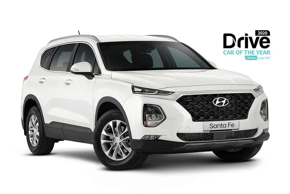 Santa Fe Active 2.2L Diesel 8-Speed Automatic AWD From $45,990 driveaway<sup>[D7]</sup>
