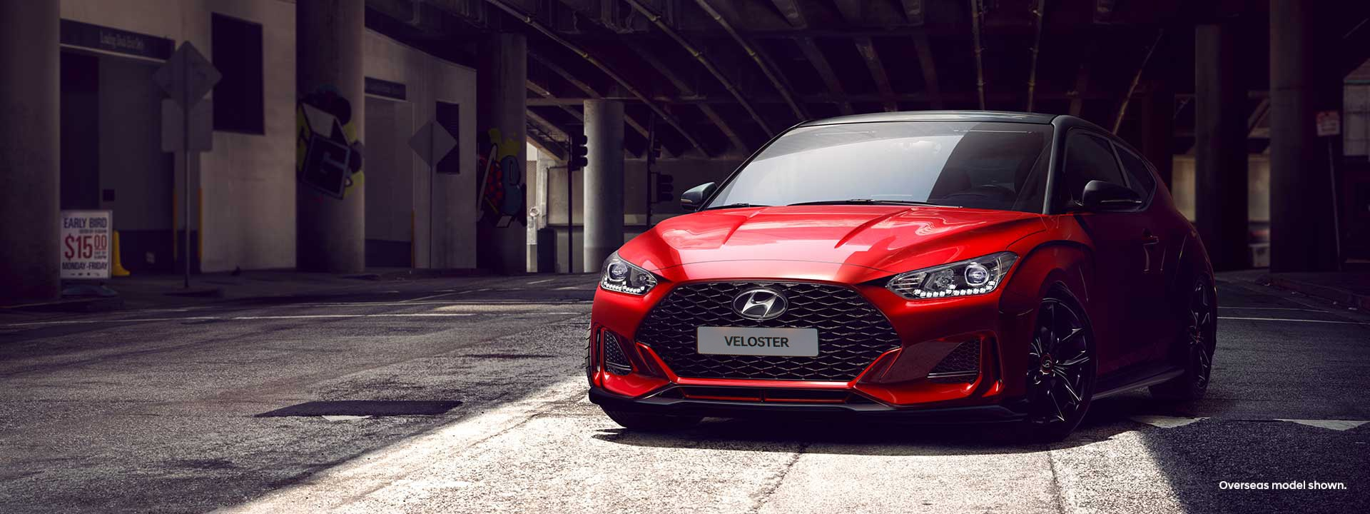 The all-new<br> Hyundai Veloster.