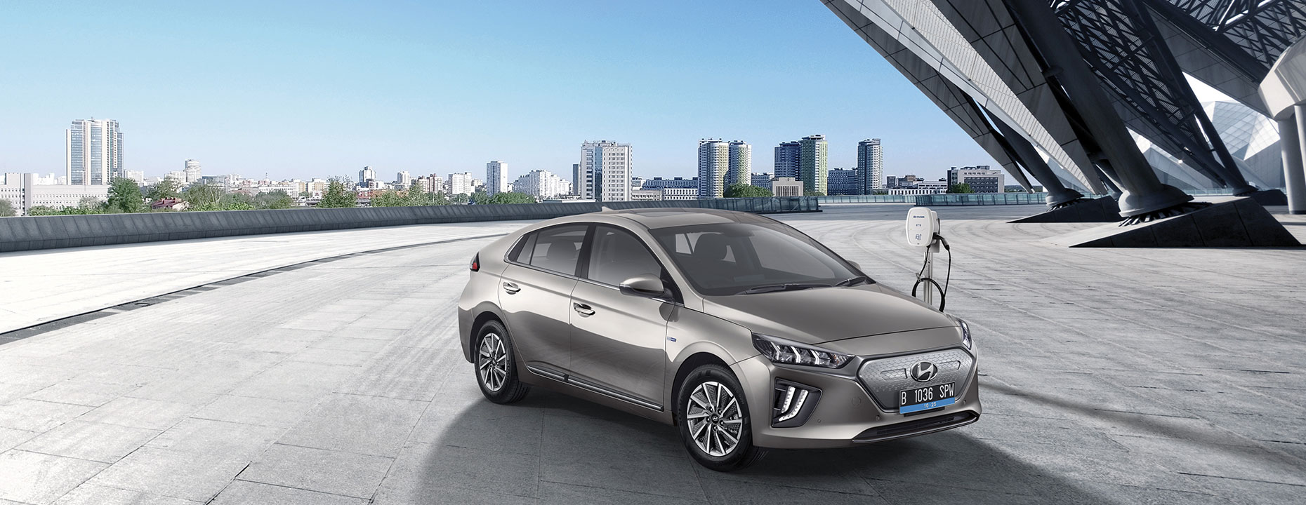 Tampilan IONIQ electric