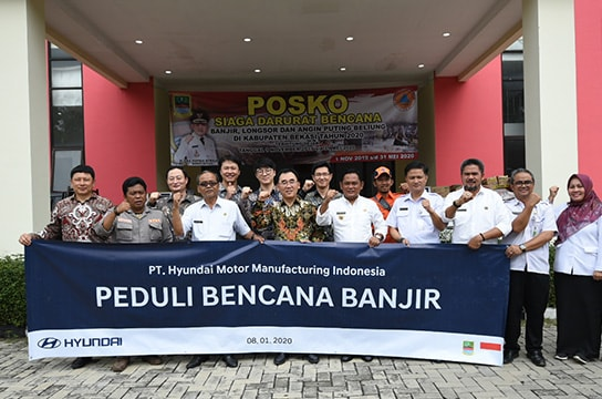 Reliefs for Flood Victims in Bekasi  Regency
