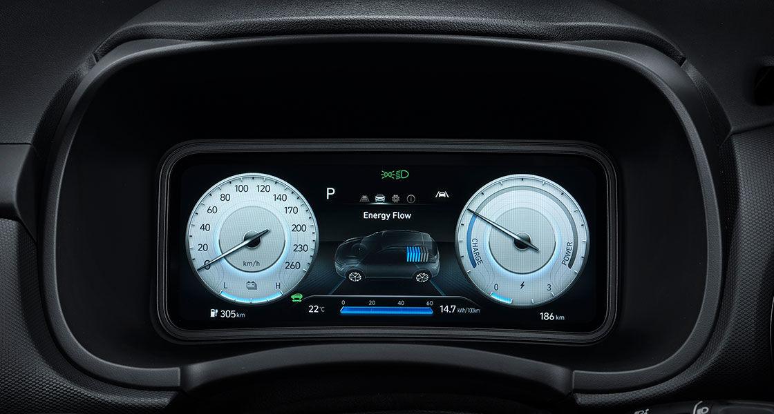 Fully digital 10.25″ gauge cluster