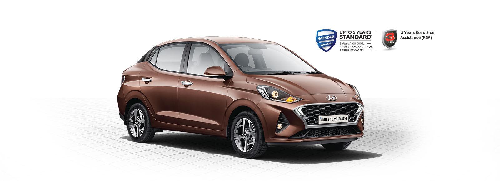 Aura Highlights Stylish New Sedan Hyundai India
