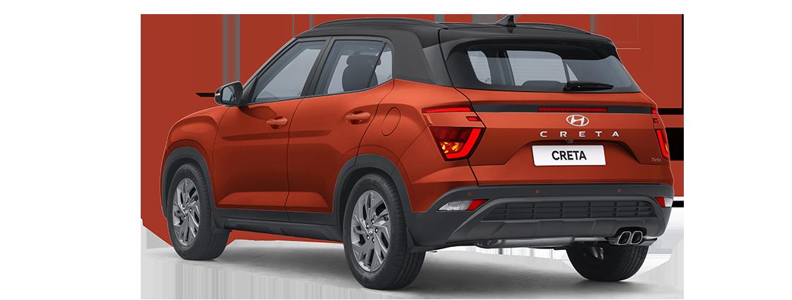 Hyundai Creta Exterior left rear three quarter