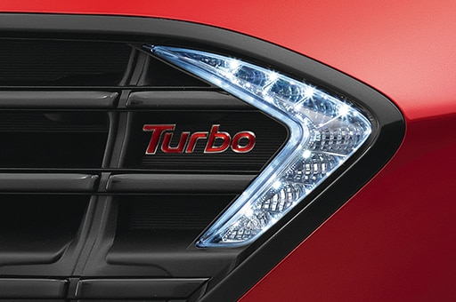 Turbo unique grille