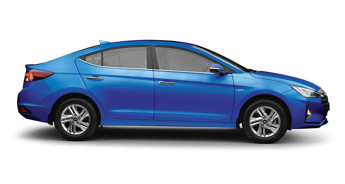 side view of elantra