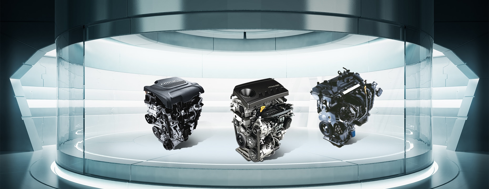 Diesel, turbo and CNG powertrains