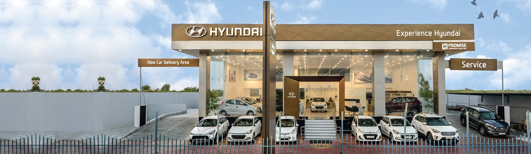 Hyundai new car Delivery area