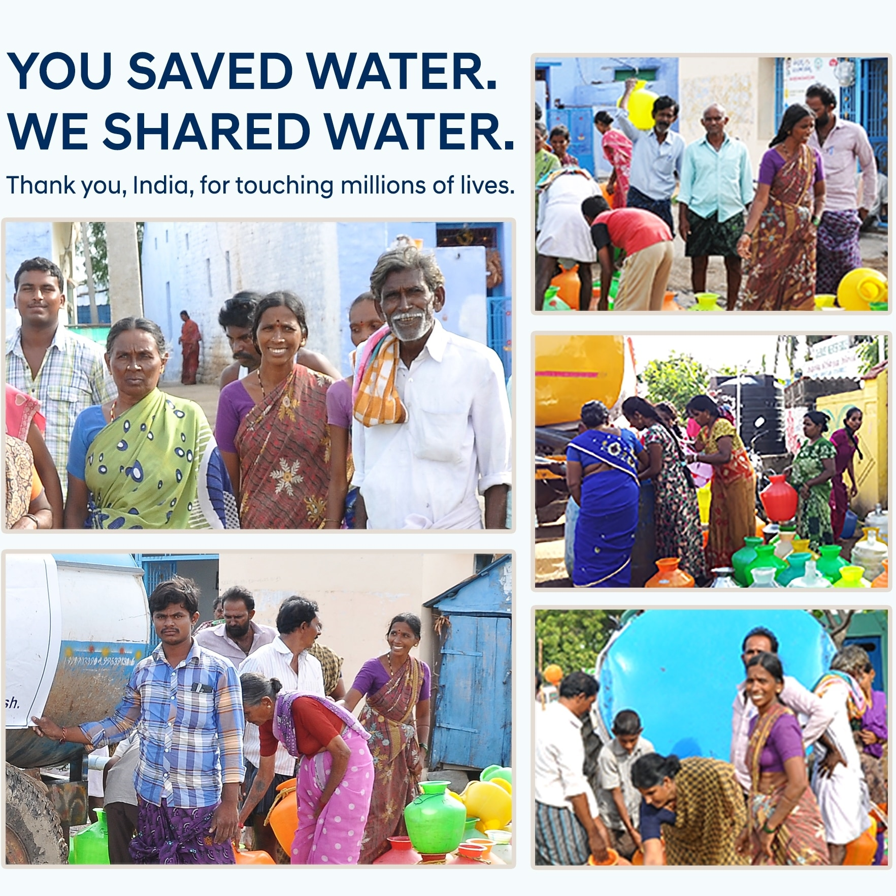 save water and share water