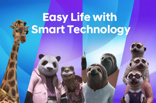 Easy Life with Smart Technology