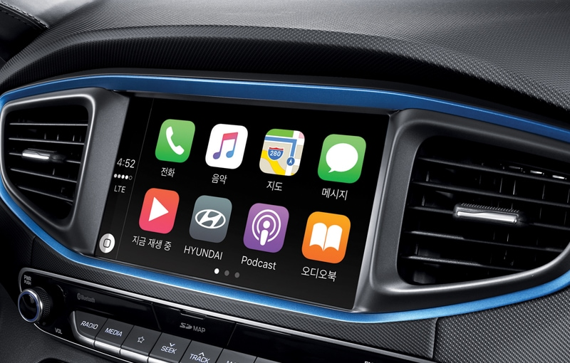 "8"" navigation system & phone connectivity functions included (Apple CarPlay, Mirror Link)"