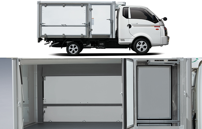 Low compound freezer truck(multipurpose)