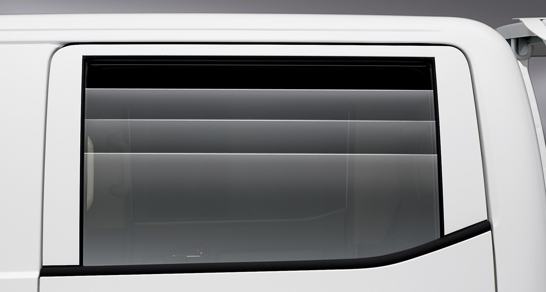 Porter2 Power windows (second row) (applied with premium-grade trim)