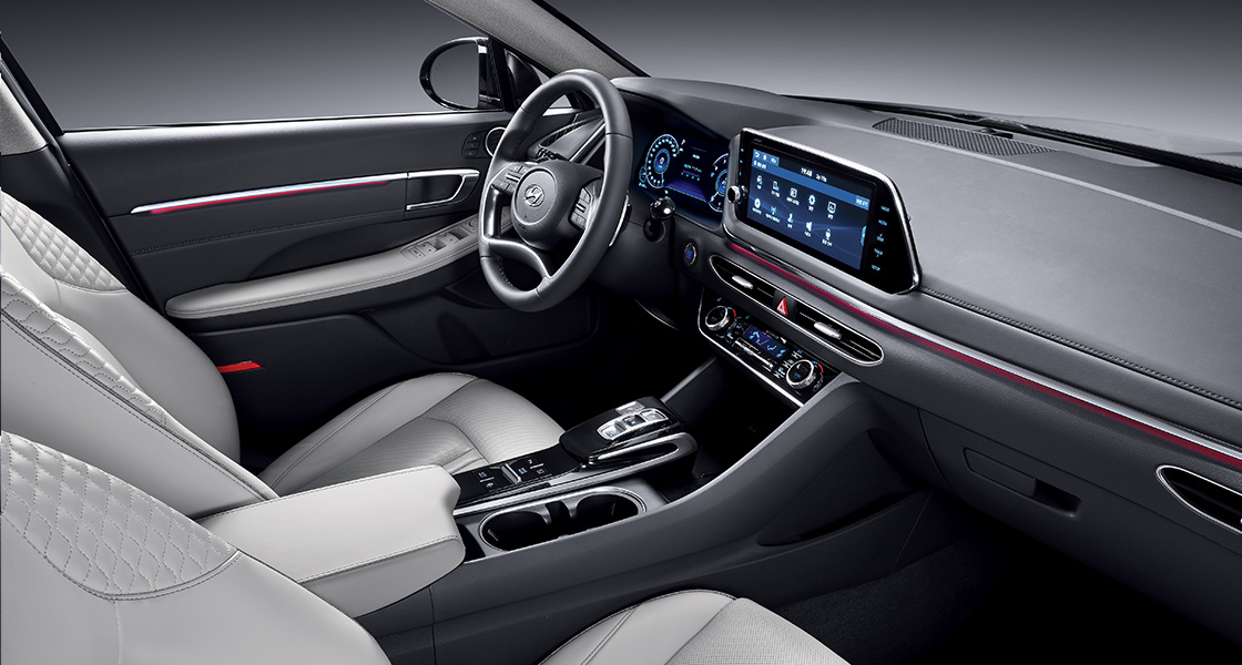 Kia Optima 2017 Interior >> VWVortex.com - 2020 Hyundai Sonata Revealed as a Sleek