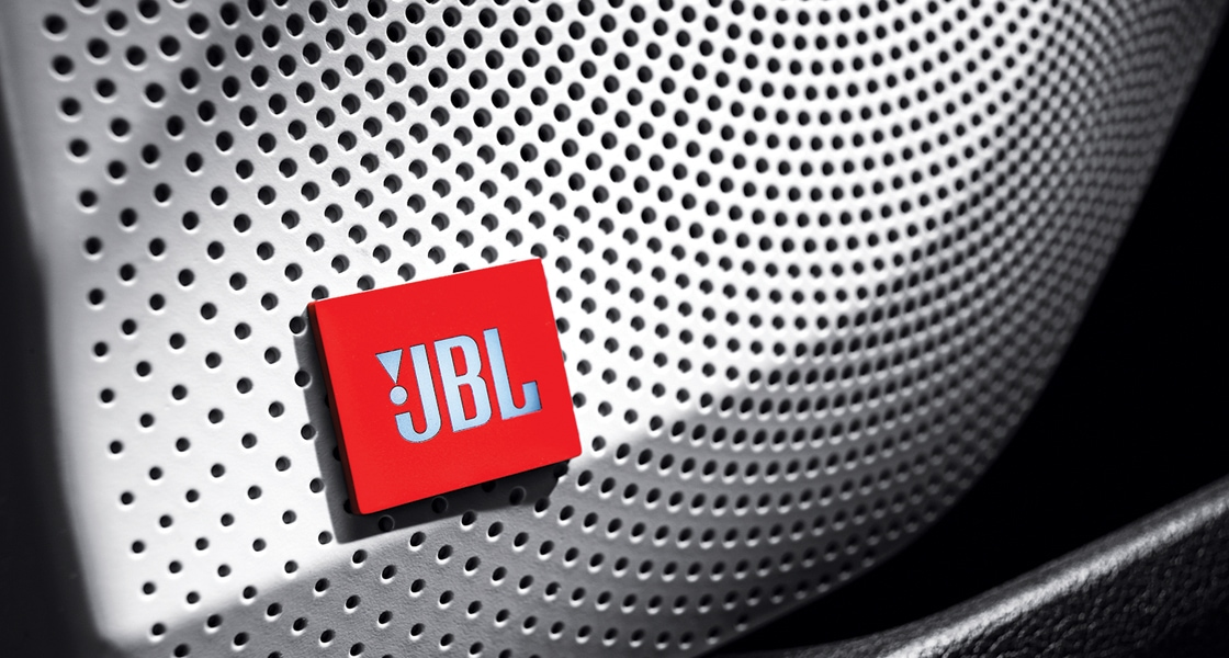VELOSTER LED emblem exclusive for JBL Extreme Sound