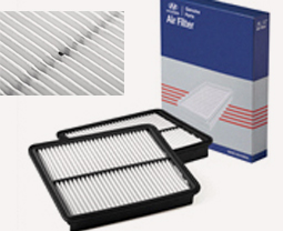 Genuine Parts Air Filter on box