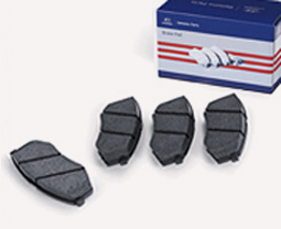 Genuine Parts Brake Pad on box