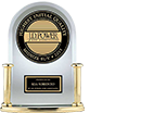Award logo of 2015 highest ranked small car in initial quality in the U.S