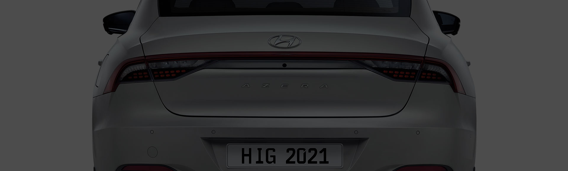 Azera exterior rear design
