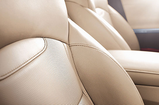Prime nappa leather seats