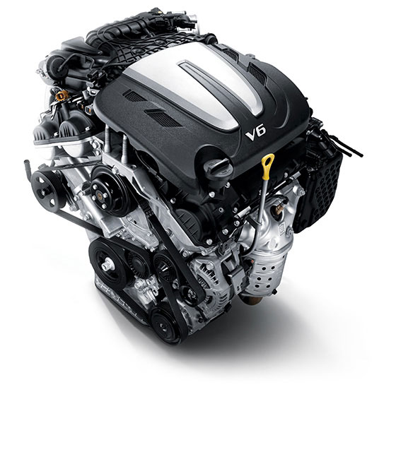 3.5 MPi gasoline engine