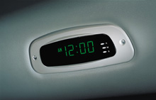 image of county digital clock