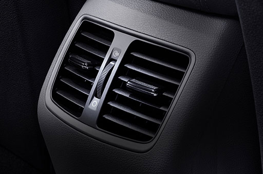 Rear AC ventilation