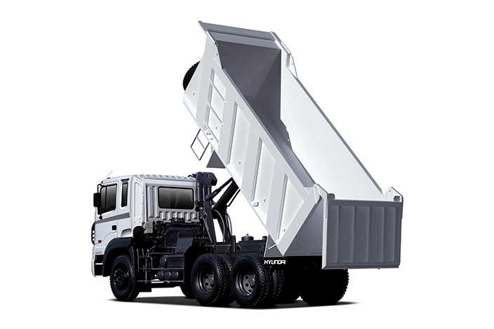 HD370 truck has 18 loading capacity