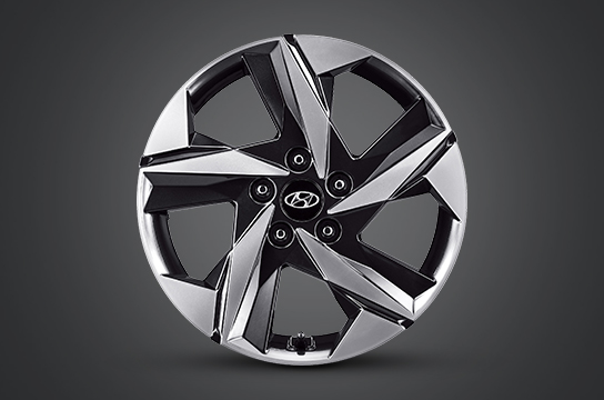 "elantra 17""alloy wheel"
