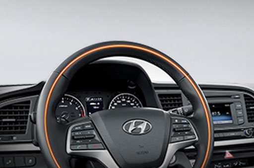 Heated steering wheel