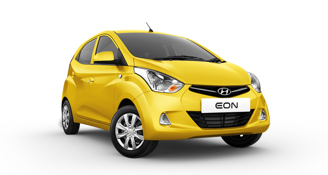 Front view of yellow Eon