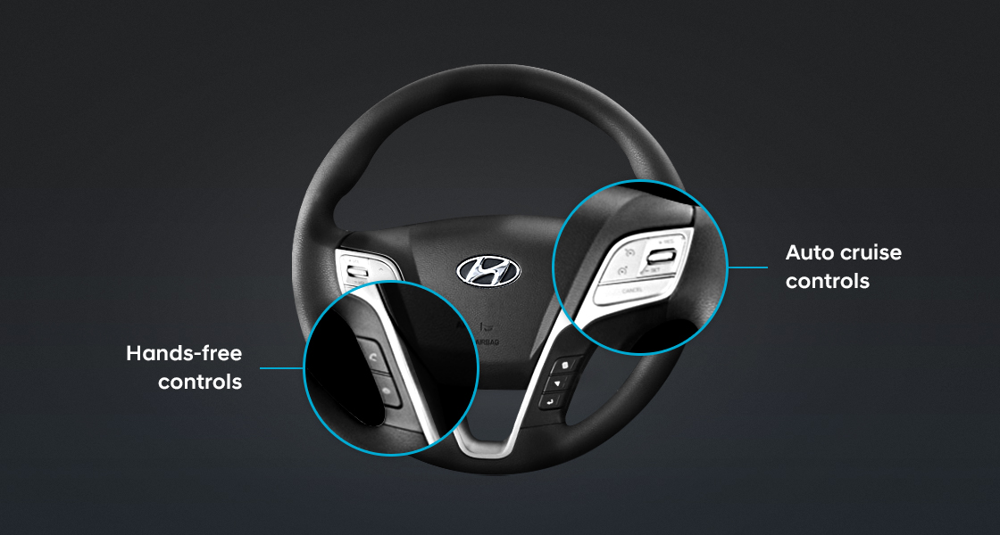 Steering wheel remote controls