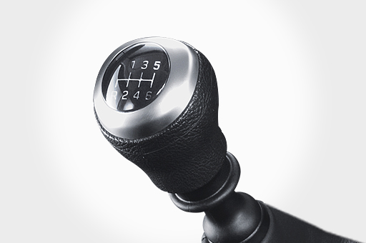 6-speed manual transmission and shift-by-wire