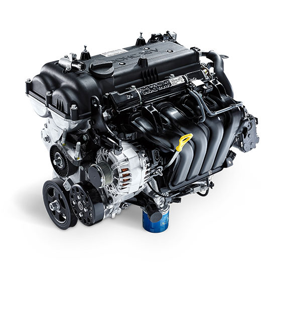1.6 MPi gasoline engine