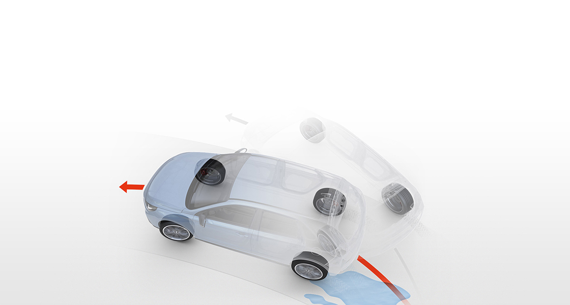 N Traction and  stability control.