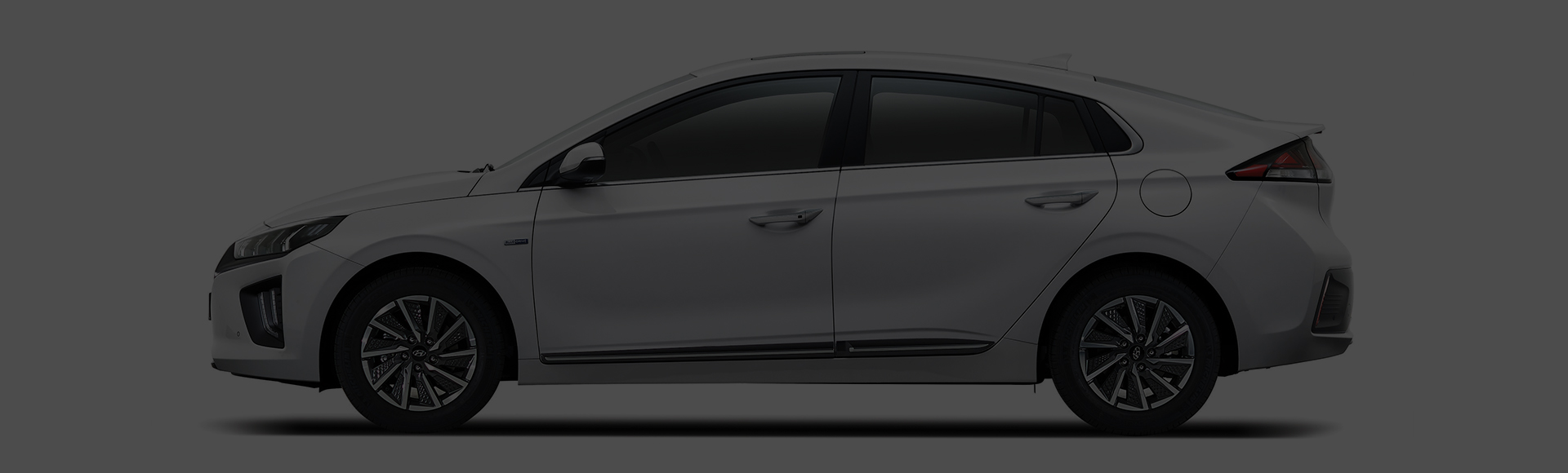 IONIQ electric exterior side design