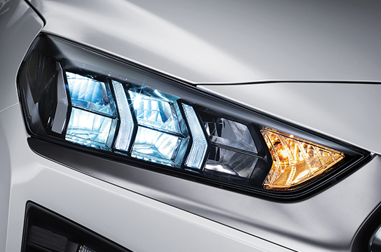 Ioniq hybrid LED headlamps
