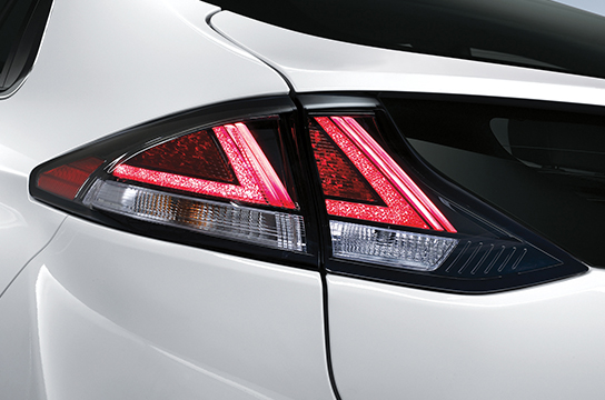 IONIQ hybrid LED rear combination lamps