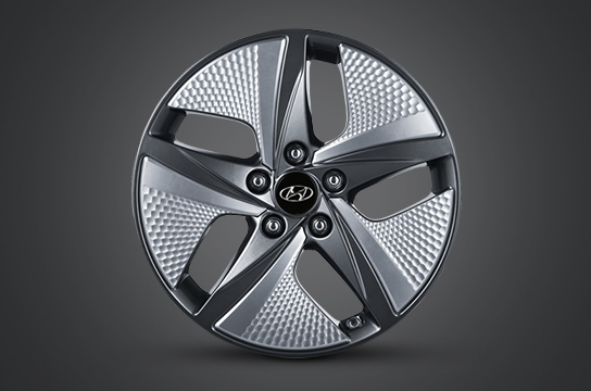 "IONIQ hybrid 17"" alloy wheels"