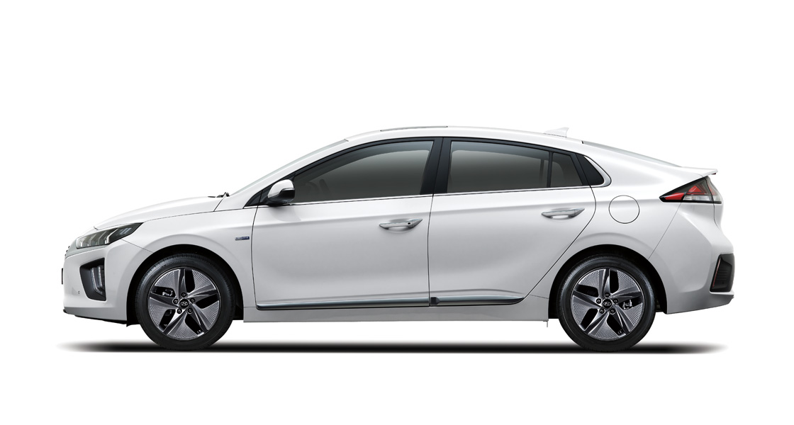 IONIQ hybrid side view
