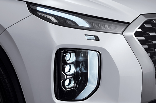 Palisade LED headlamps