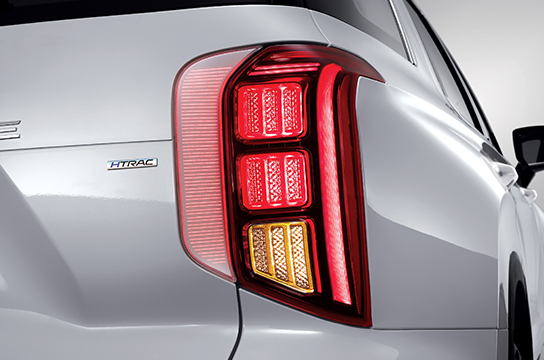 Palisade LED rear combination lamp