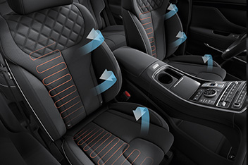 Front Seat Warming & Cooling Air Ventilation
