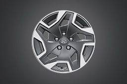 "17"" Alloy wheel (HEV, PHEV only)"