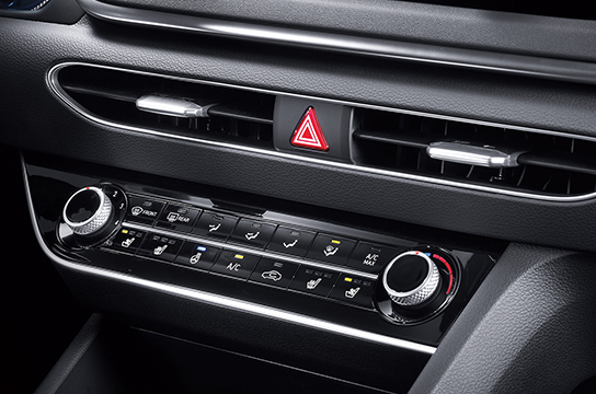 Sonata Manual air conditioning system