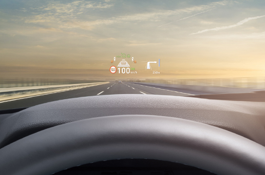 Sonata Head-up display